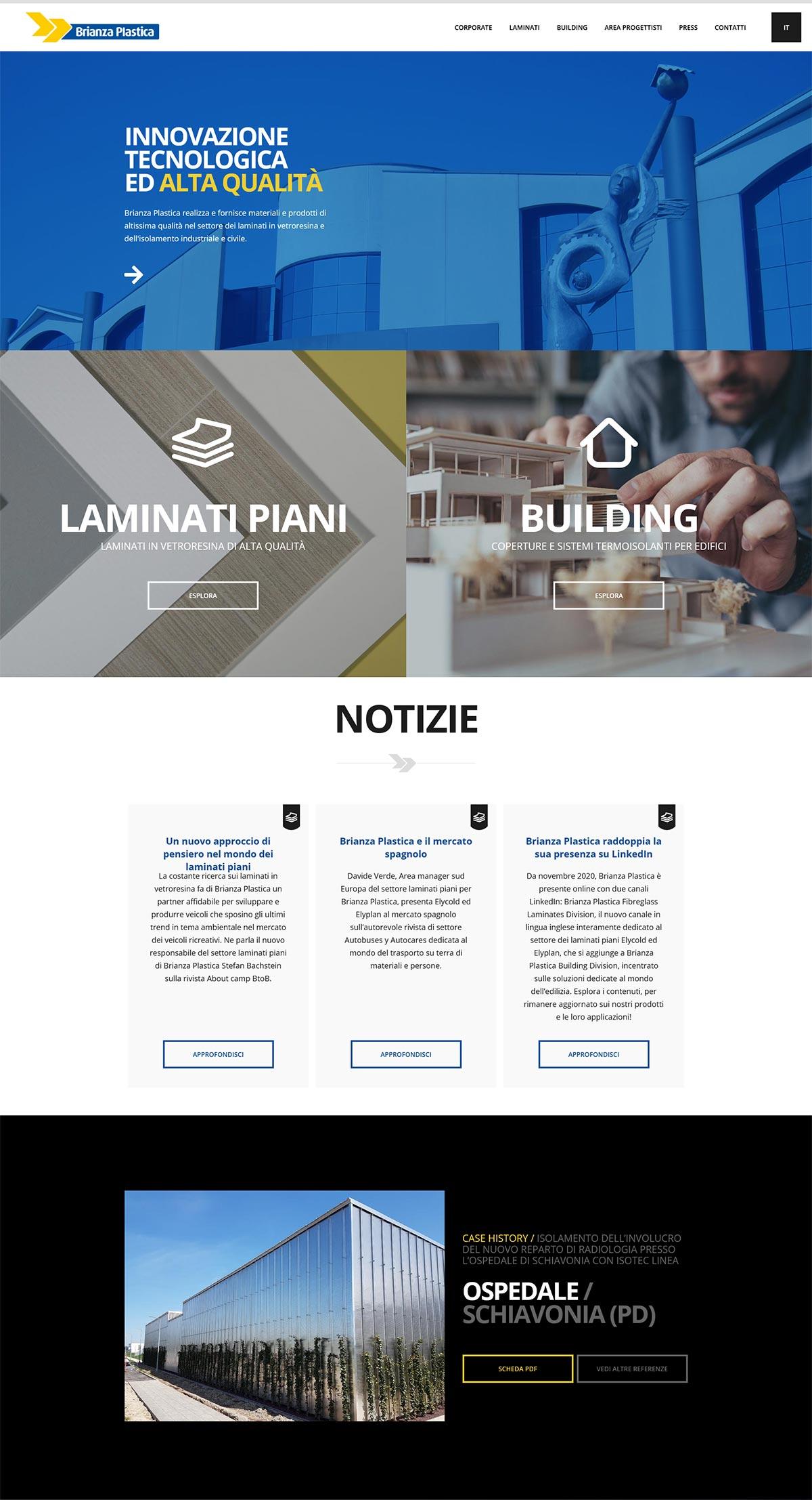 Realizzazione sito web corporate